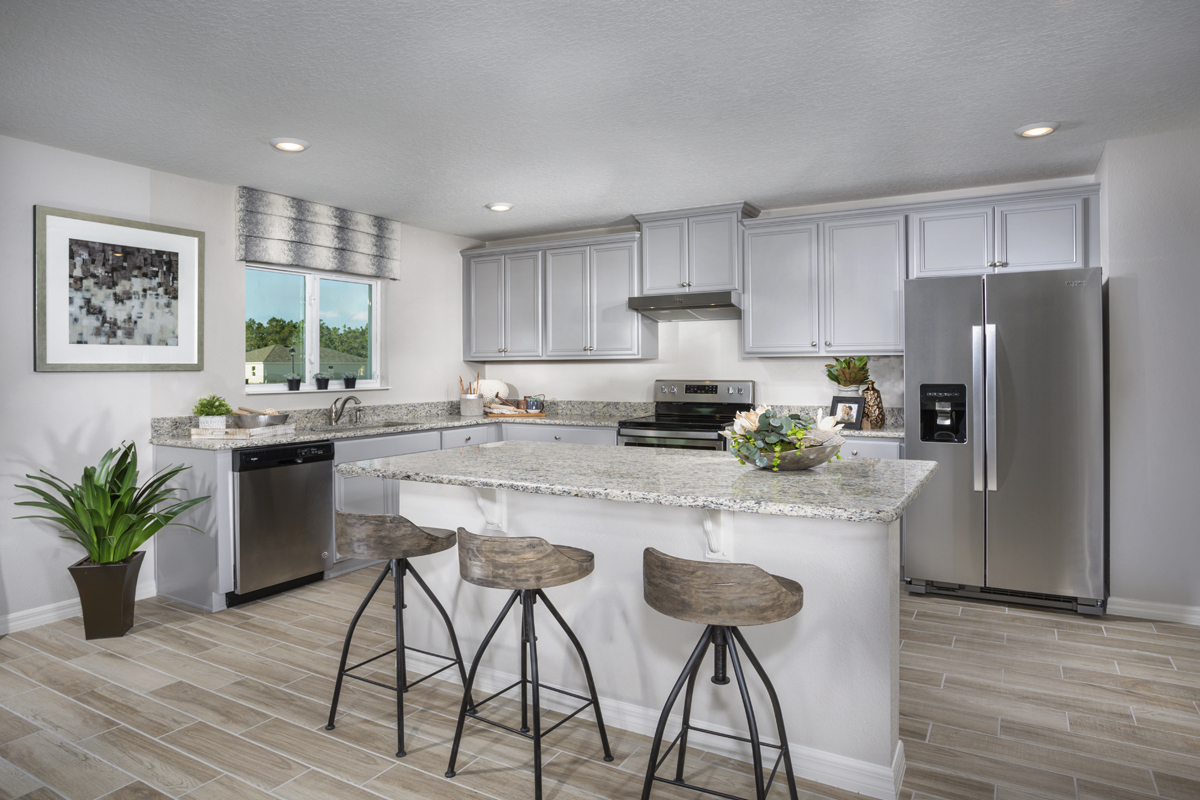 New Homes in St. Cloud, FL - Gramercy Farms 2545 Kitchen