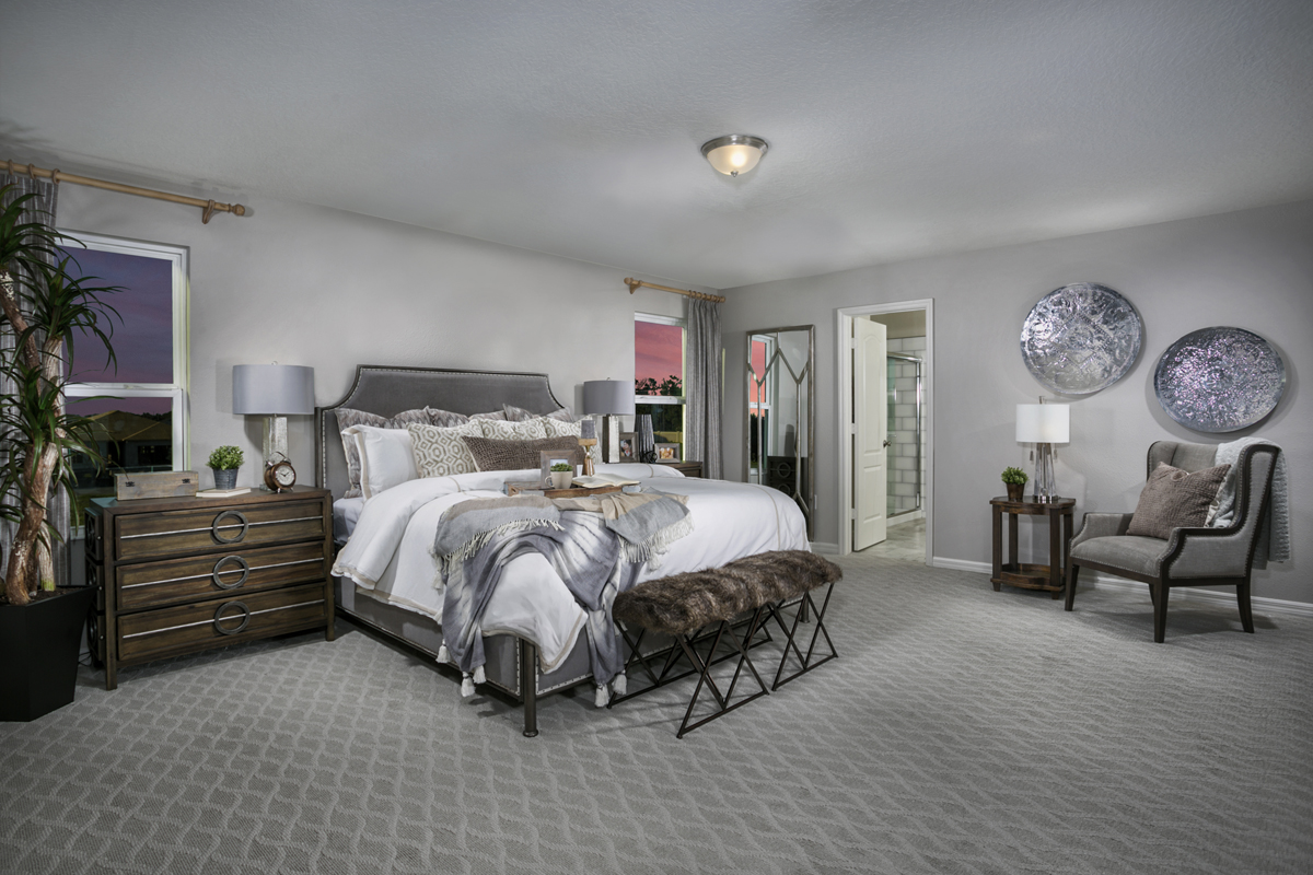 New Homes in St. Cloud, FL - Gramercy Farms 2545 Master Bedroom