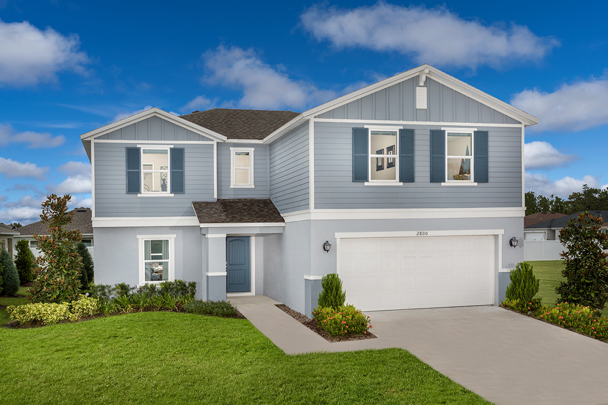 New Homes in St. Cloud, FL - Gramercy Farms Plan 2545