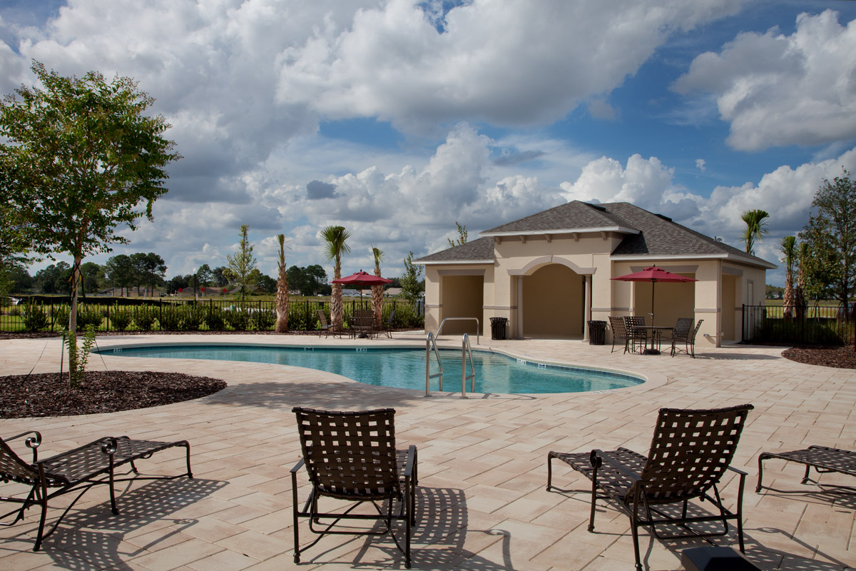 Future amenity pool in St. Cloud, FL
