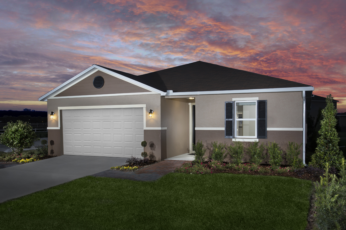 KB model home in St. Cloud, FL