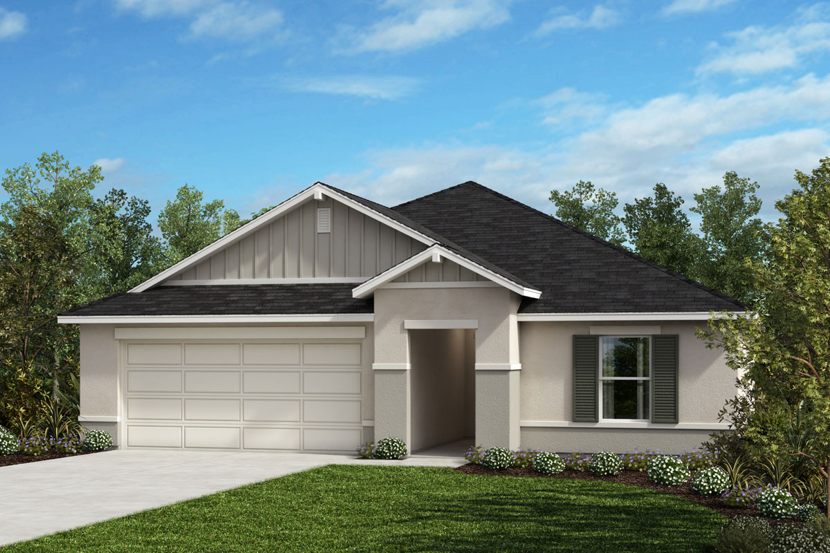 New Homes in Clermont, FL - Lake Minneola Landings Plan 1707