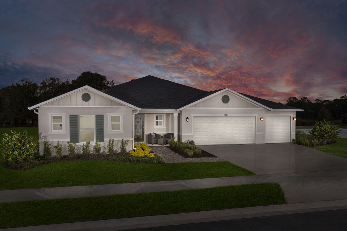 New Homes in Clermont, FL - Plan 2178 Modeled