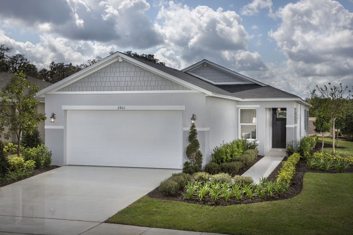 New Homes in Sanford, FL - Landings at Riverbend Plan 1637 as modeled at Gramercy Farms