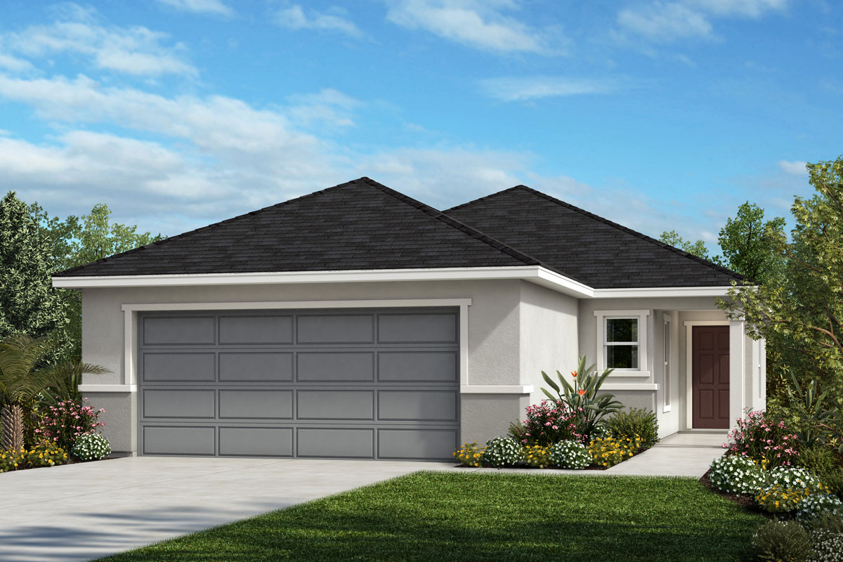 New Homes in Sanford, FL - Landings at Riverbend Plan 1501 Elevation A