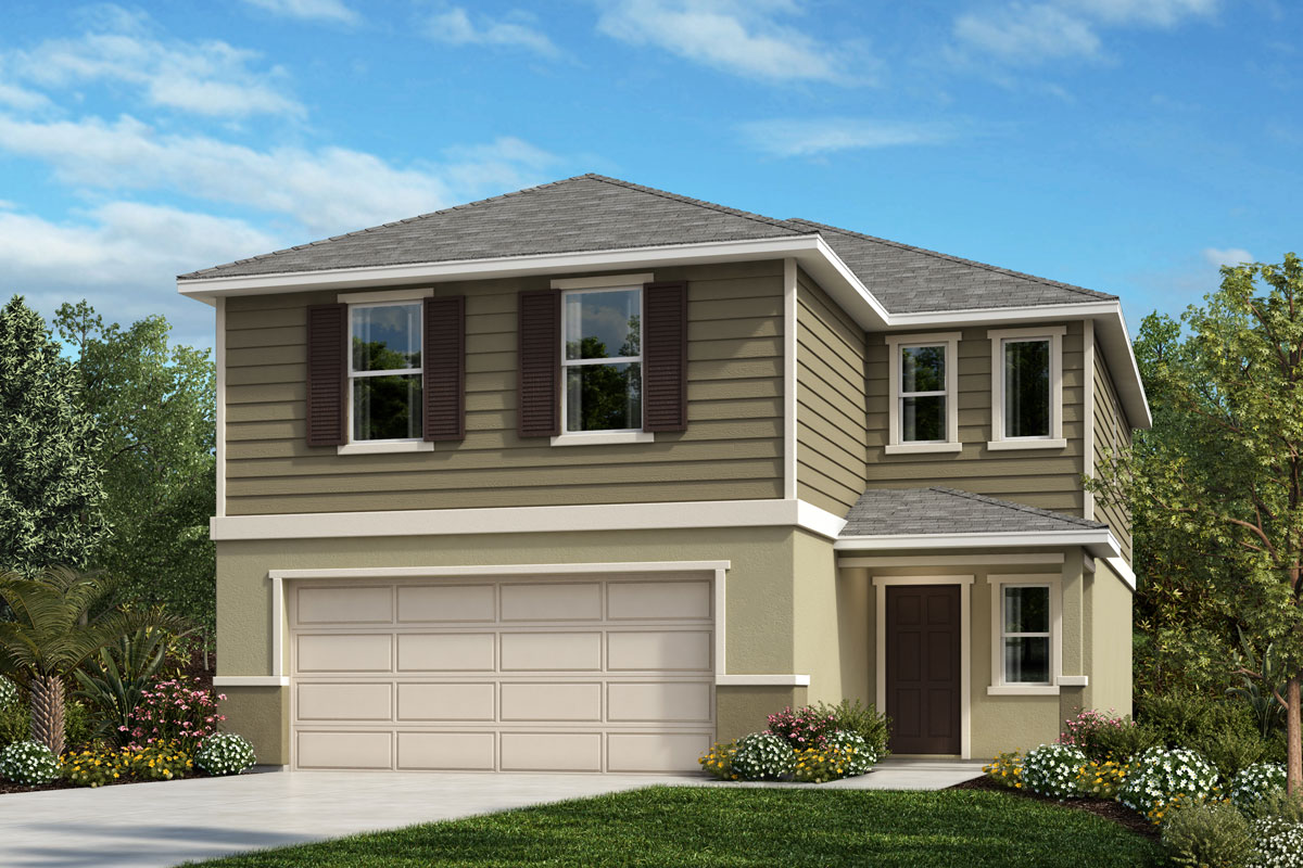 New Homes in Sanford, FL - Landings at Riverbend Plan 1908 Elevation E