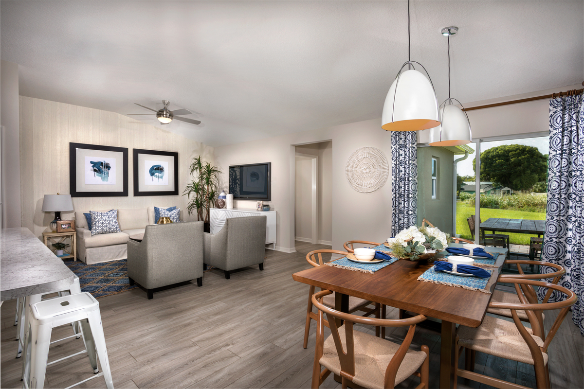 New Homes in Sanford, FL - Landings at Riverbend Plan 1637 - Great Room