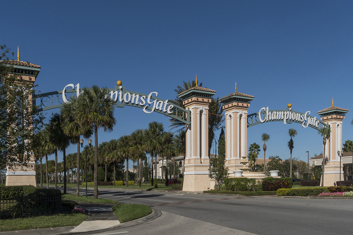 New Homes in Davenport, FL - Magnolia at Westside Enjoy a round of golf at ChampionsGate
