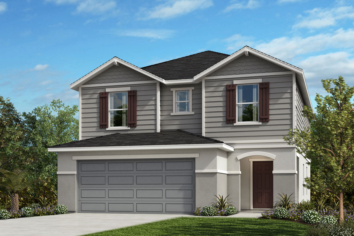 New Homes in Davenport , FL - Elevation H