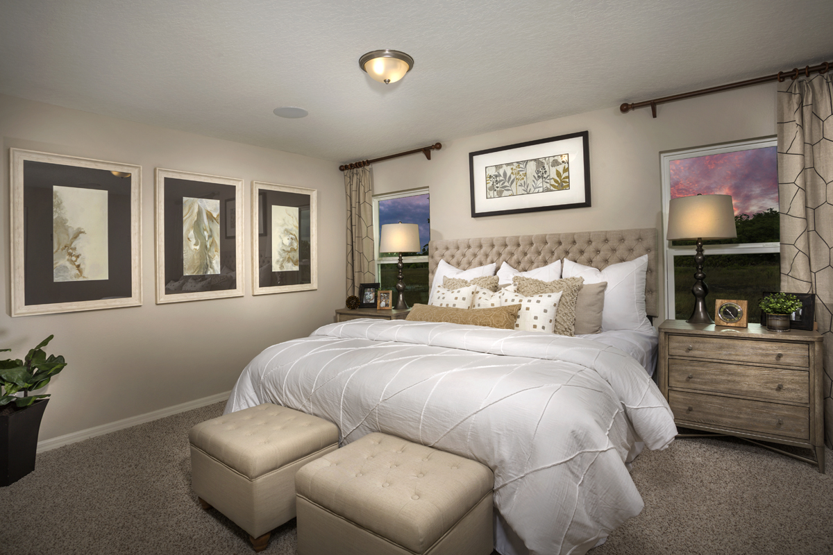 New Homes in Davenport, FL - Preservation Pointe 1511 Master Bedroom