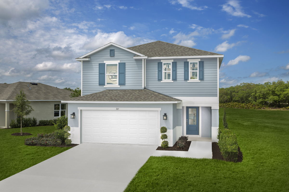 New Homes in Davenport, FL - Preservation Pointe Plan 2107