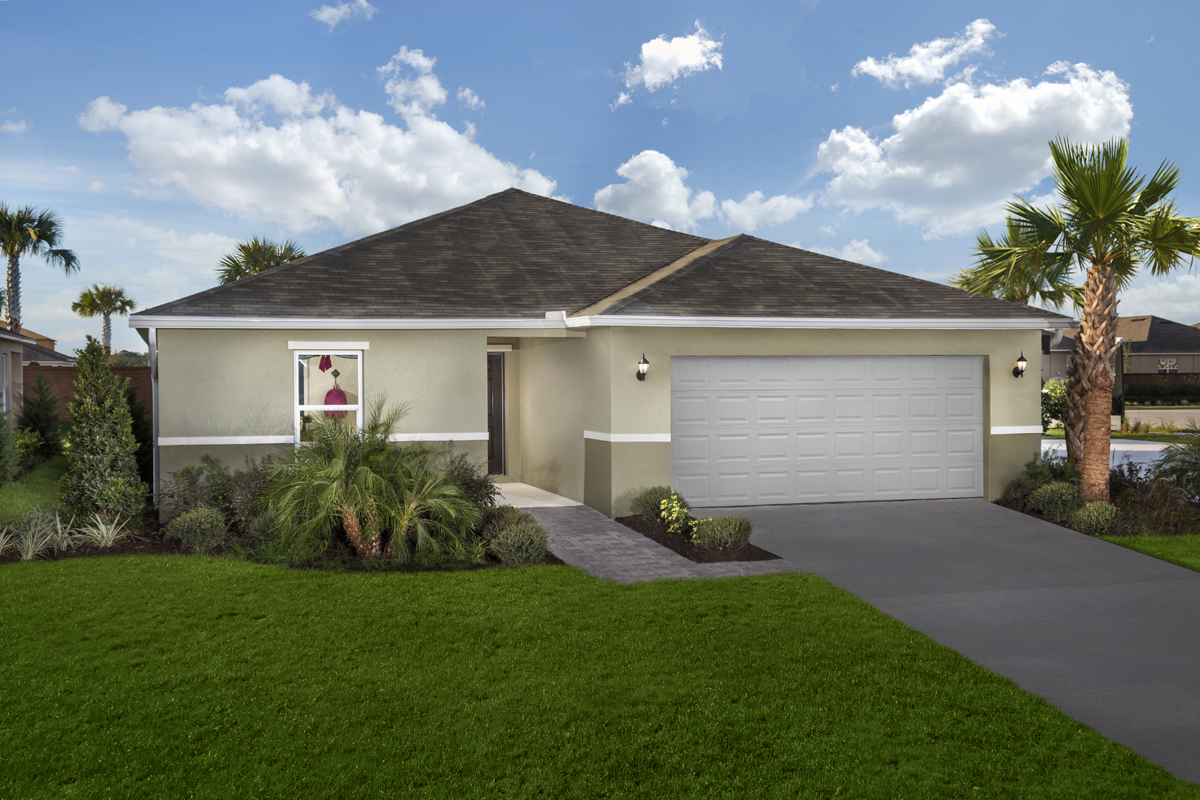 New Homes in Minneola, FL - Plan 1707 Modeled