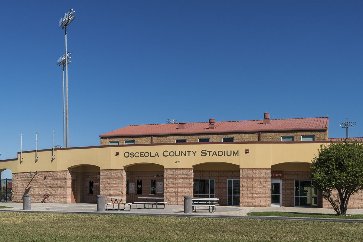 New Homes in St. Cloud, FL - Rivercrest at Narcoossee Osceola County Stadium at Osceola Heritage Park