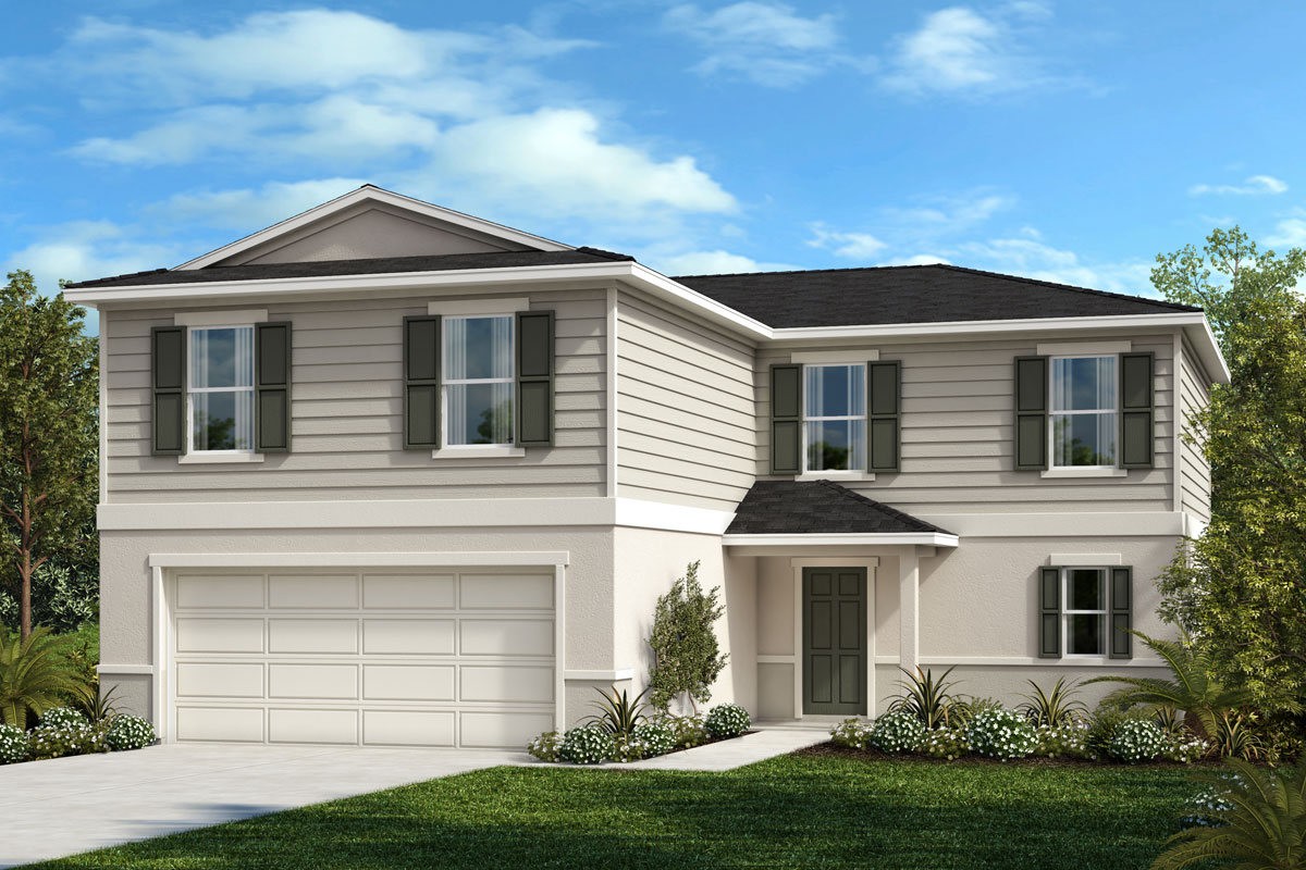 New Homes in St. Cloud, FL - Rivercrest at Narcoossee Plan 2384