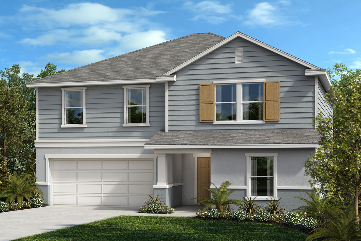 New Homes in St. Cloud, FL - Rivercrest at Narcoossee Plan 2566