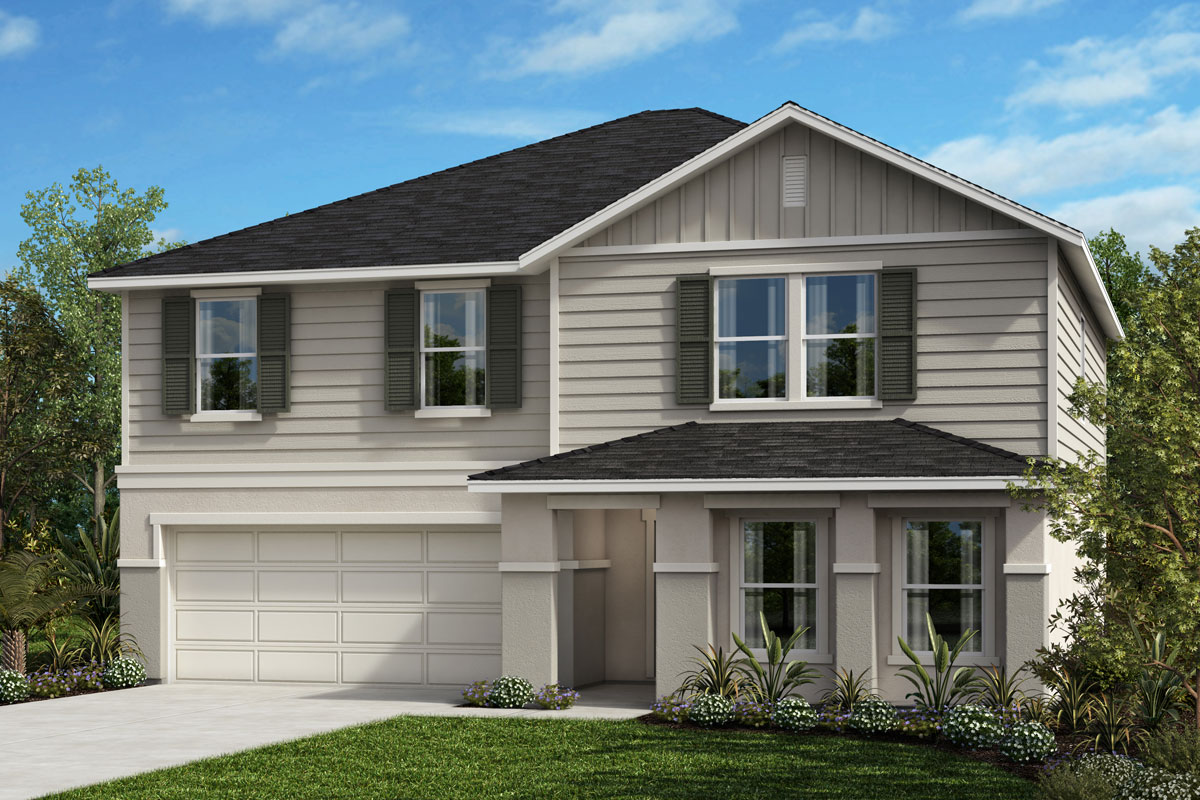 New Homes in St. Cloud, FL - Elevation H