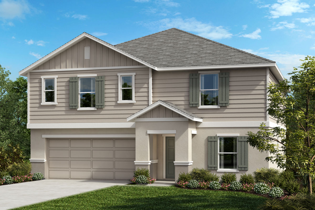 New Homes in St. Cloud, FL - Rivercrest at Narcoossee Plan 2716