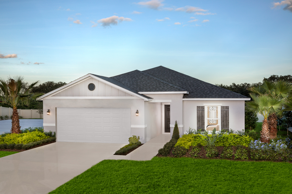 New Homes in St. Cloud, FL - Rivercrest at Narcoossee Plan 1760 Modeled