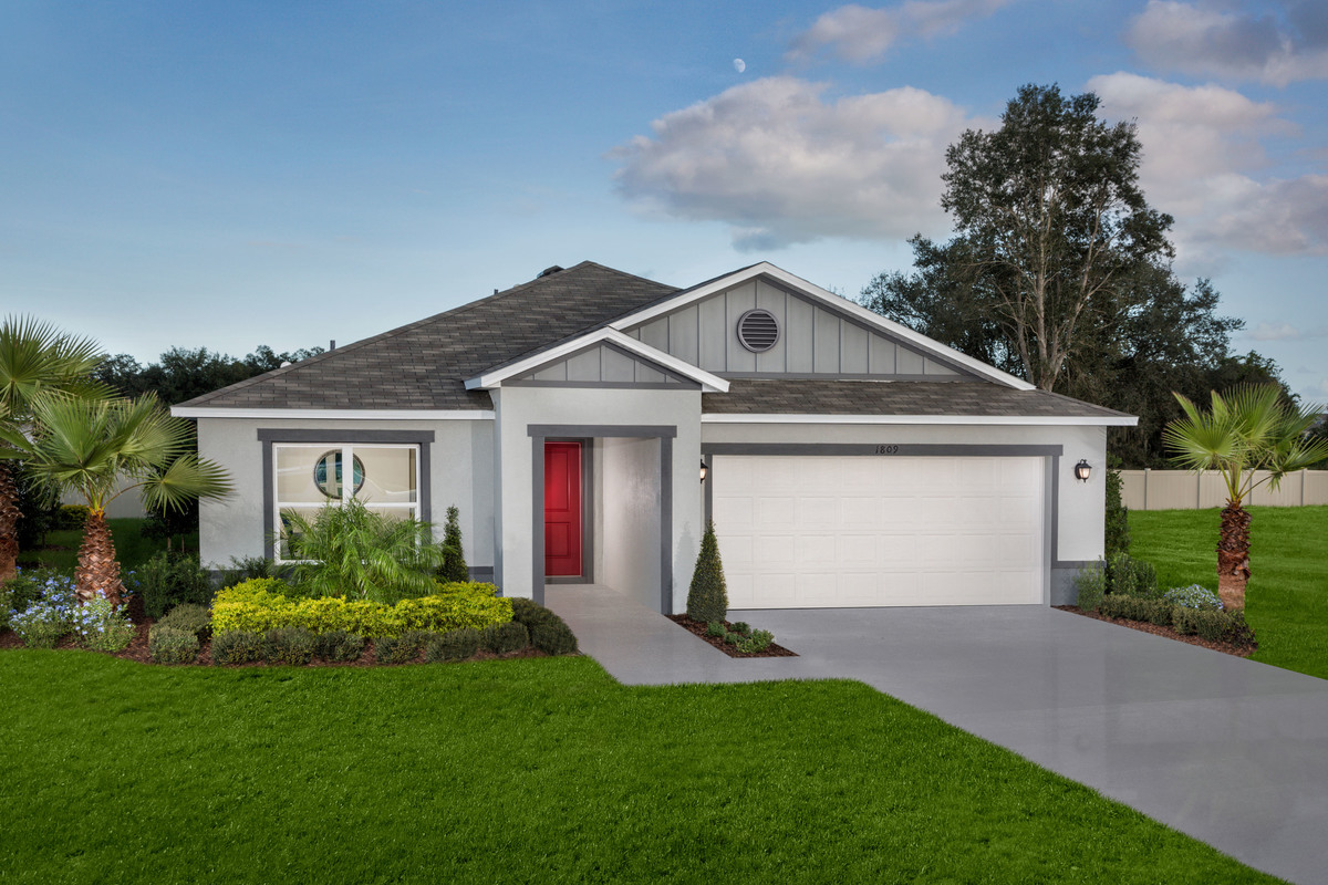 New Homes in St. Cloud, FL - Rivercrest at Narcoossee Plan 1989