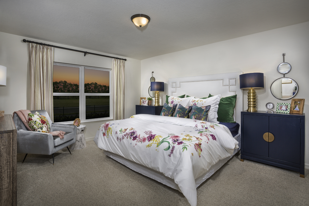 New Homes in Clermont, FL - Sawgrass Bay 1760 Master Bedroom