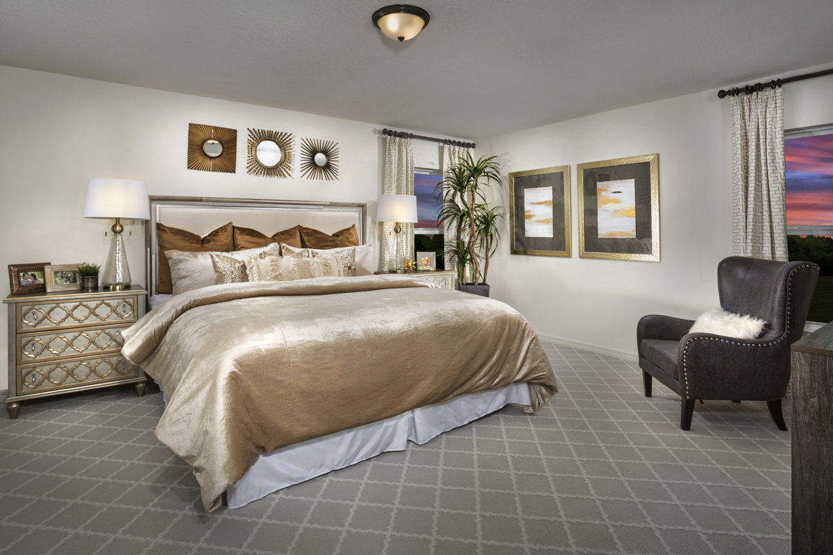 New Homes in Clermont, FL - Sawgrass Bay 1989 Master Bedroom