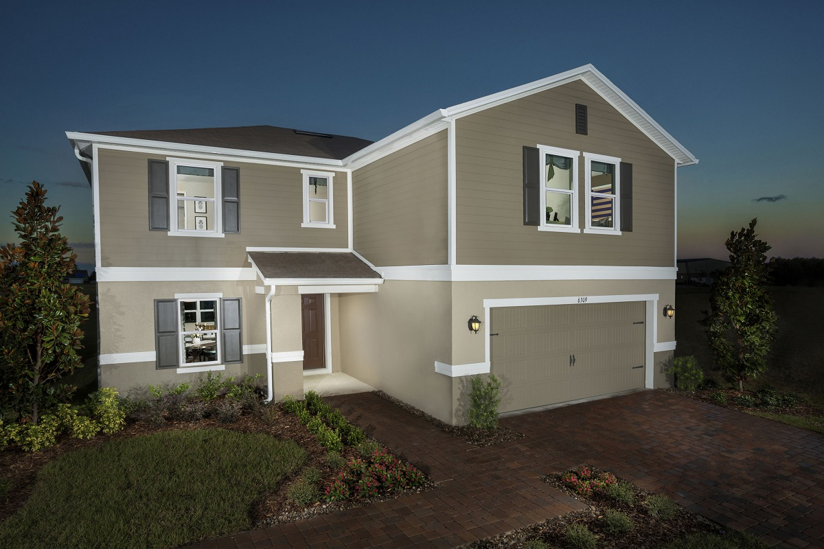 New Homes in Groveland, FL - Stewart Lake Preserve Plan 2545