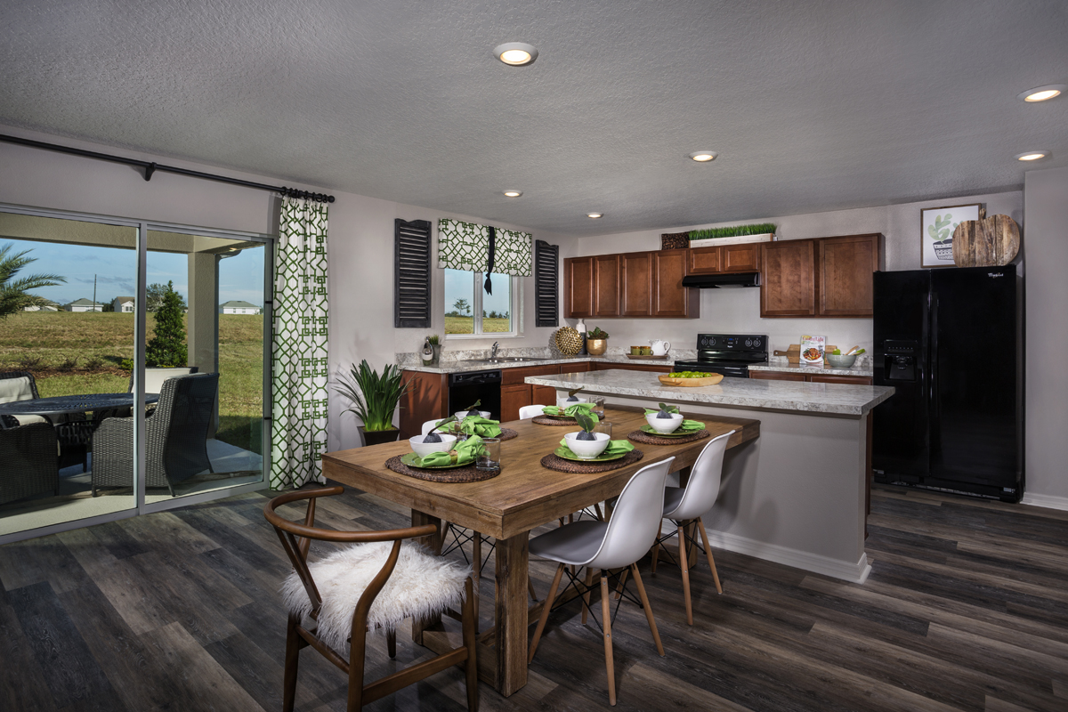 New Homes in Groveland, FL - Stewart Lake Preserve 2545 Kitchen