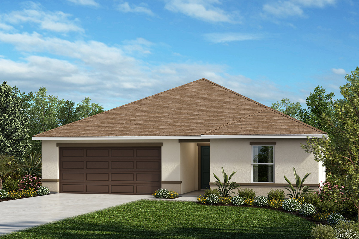 New Homes in Haines City, FL - Elevation A