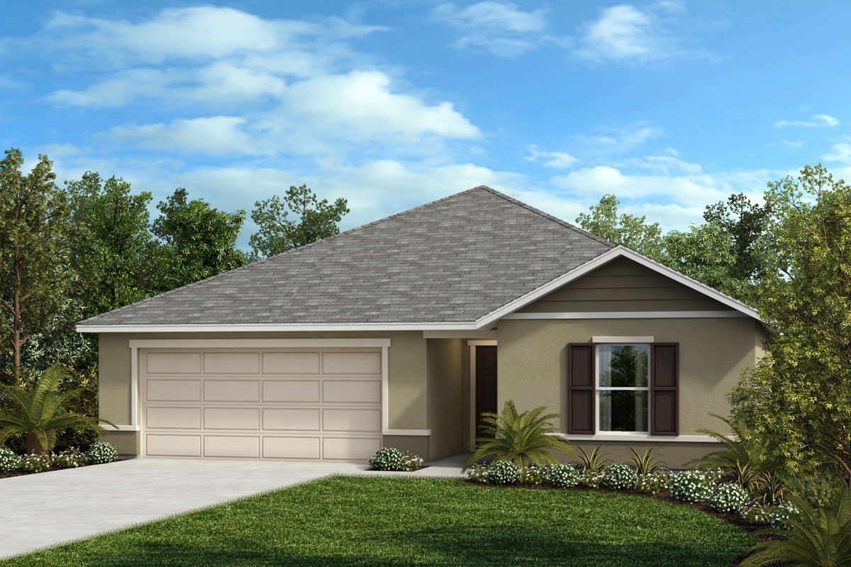 New Homes in Haines City, FL - Summerlin Groves Plan 1286 Elevation F
