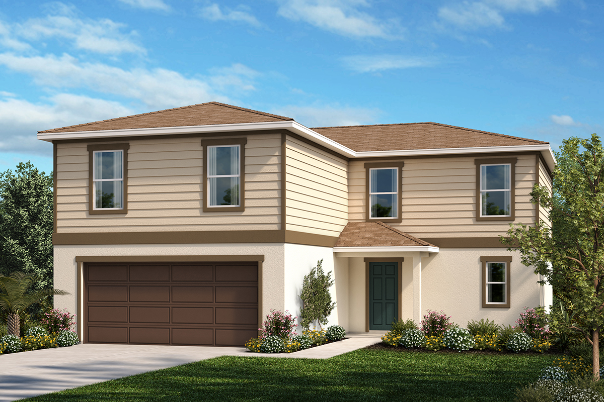 New Homes in Haines City, FL - Elevation E