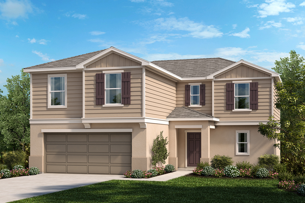 New Homes in Haines City, FL - Summerlin Groves Plan 2384 Elevation G