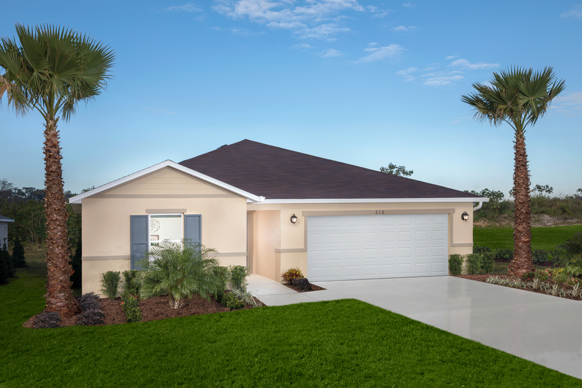 New Homes in Haines City, FL - Plan 1541 Modeled
