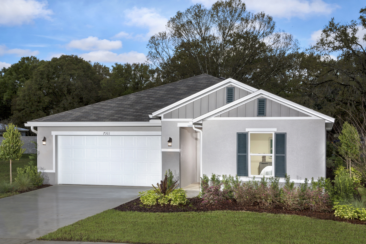New Homes in Haines City, FL - Summerlin Groves Plan 1541 as modeled at Cayden Reserve