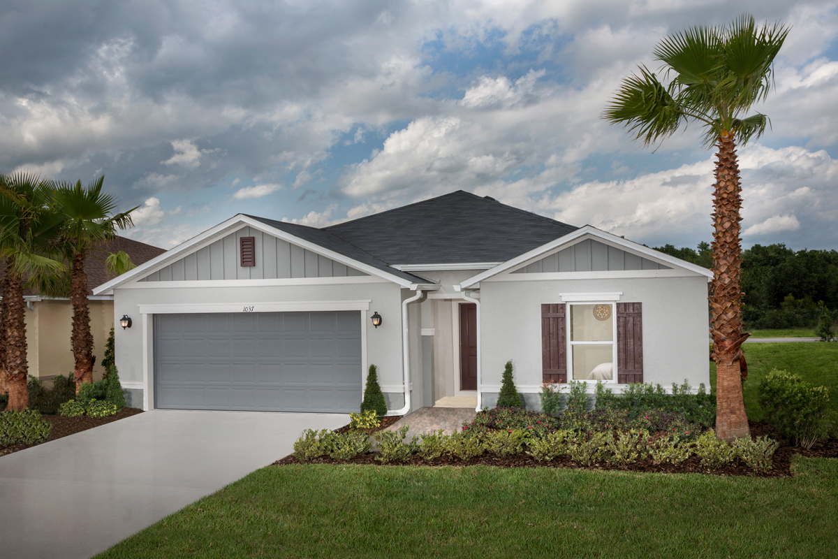 New Homes in Haines City, FL - Summerlin Groves Plan 1989 Modeled