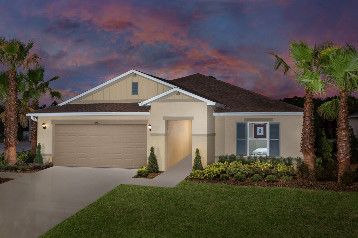 New Homes in Davenport, FL - Plan 1760 - Modeled