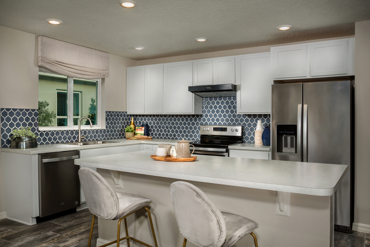 New Homes in Davenport, FL - Tivoli Reserve 1760 Kitchen