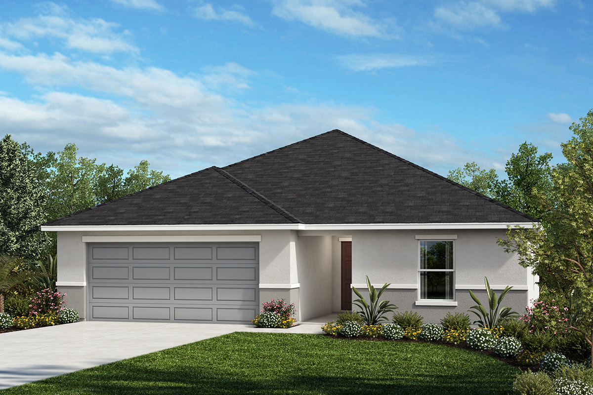 New Homes in Titusville, FL - Elevation A
