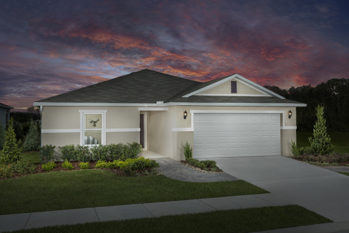 New Homes in Titusville, FL - Verona Plan 1707 as modeled at Cayden Reserve