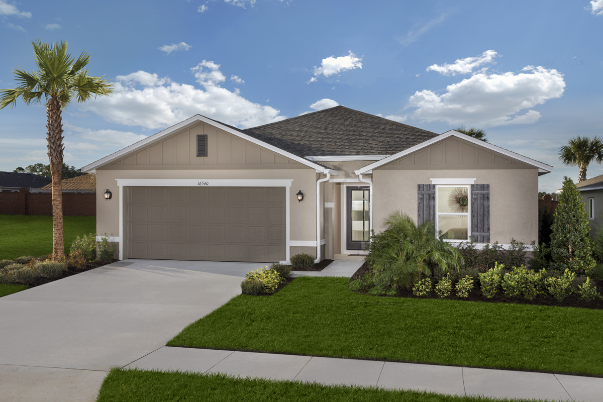 New Homes in Titusville, FL - Verona Plan 1989 as modeled at Sawgrass Bay