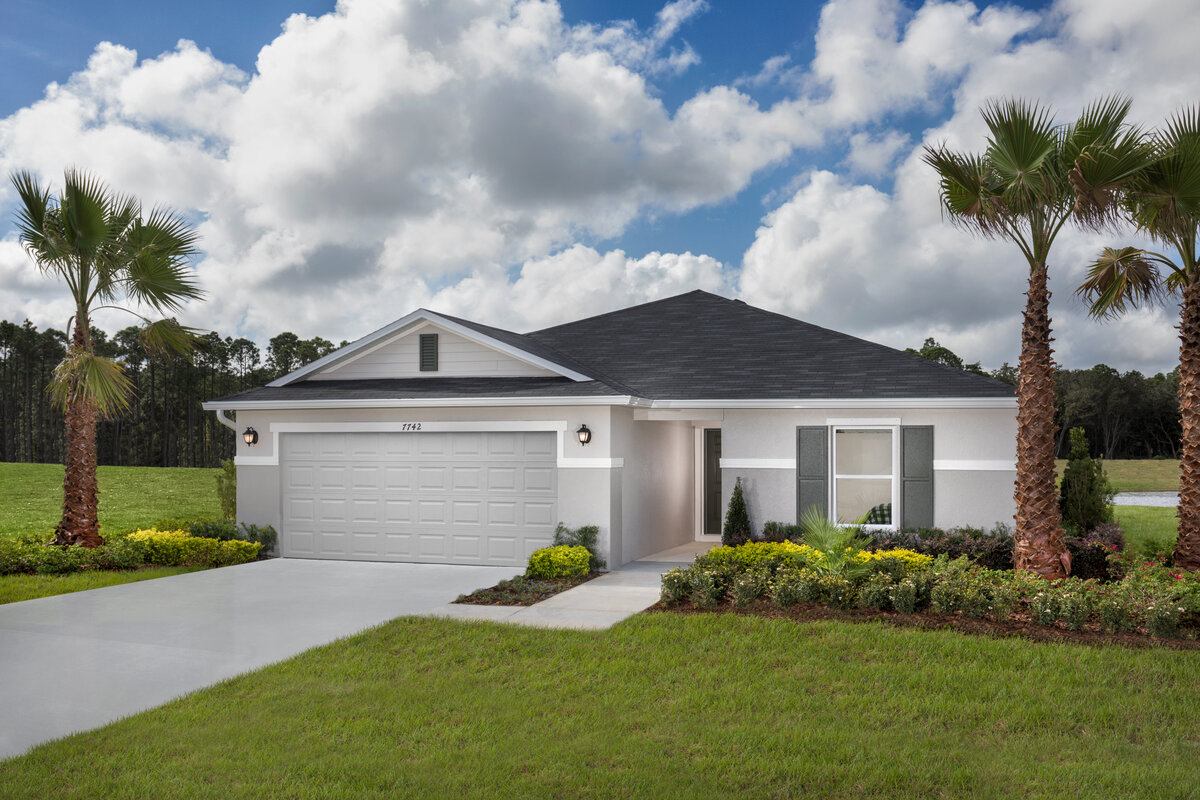 New Homes in Titusville, FL - Plan 1707 Modeled