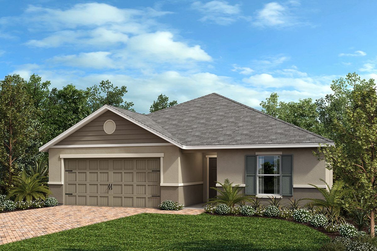 New Homes in Groveland, FL - Elevation F
