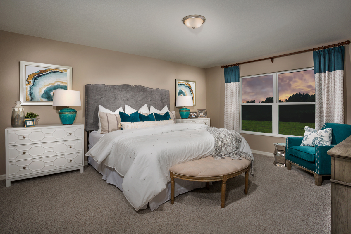 New Homes in Groveland, FL - Wilson Estates 1707 Master Bedroom