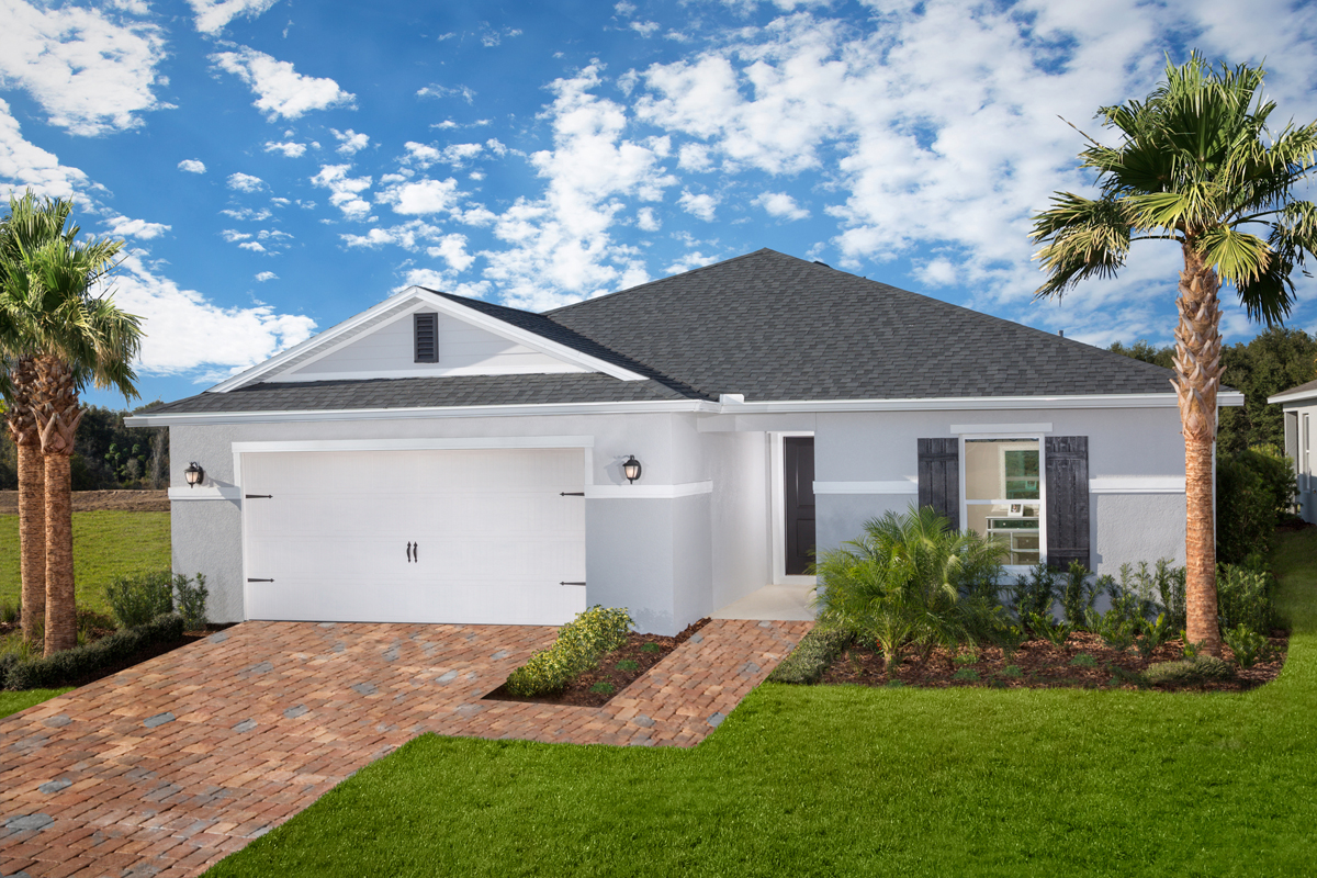 New Homes in Groveland, FL - Plan 1707 Modeled