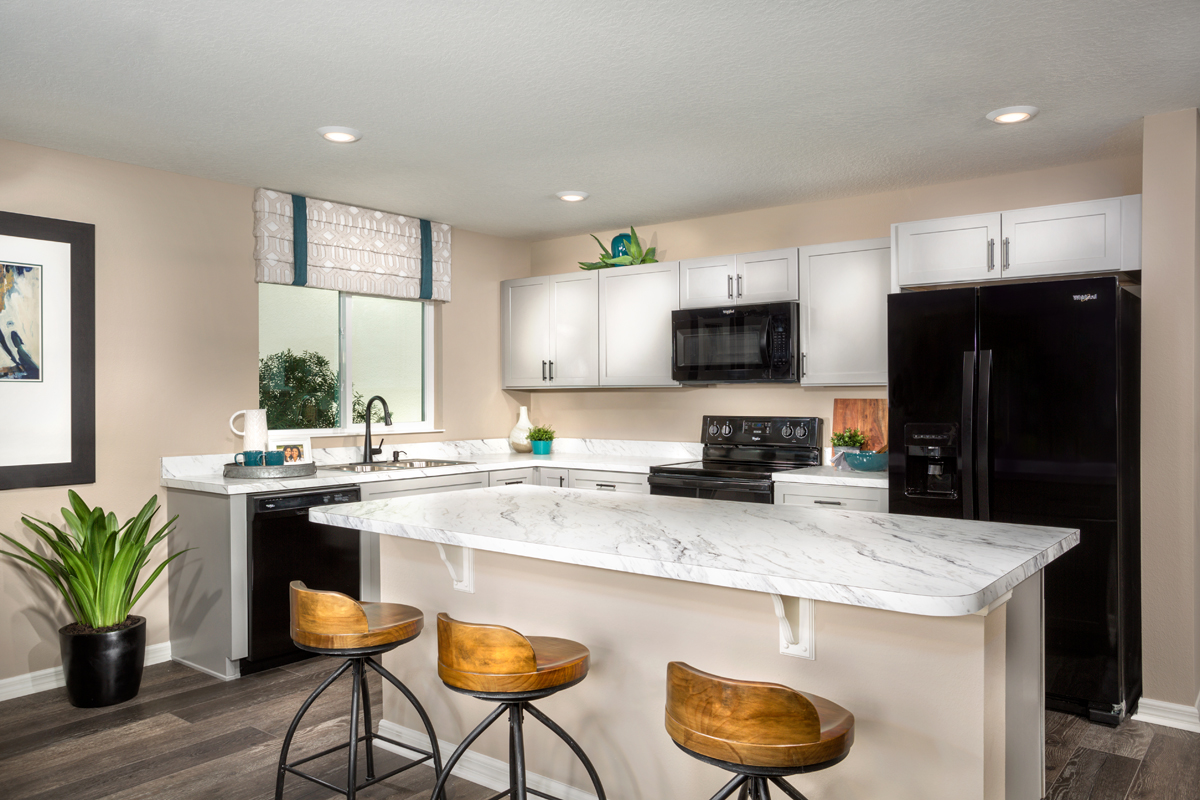 New Homes in Groveland, FL - Wilson Estates 1707 Kitchen
