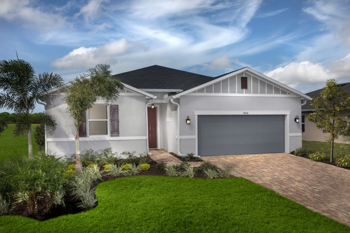 New Homes in Sarasota, FL - Grady Pointe Plan 1989