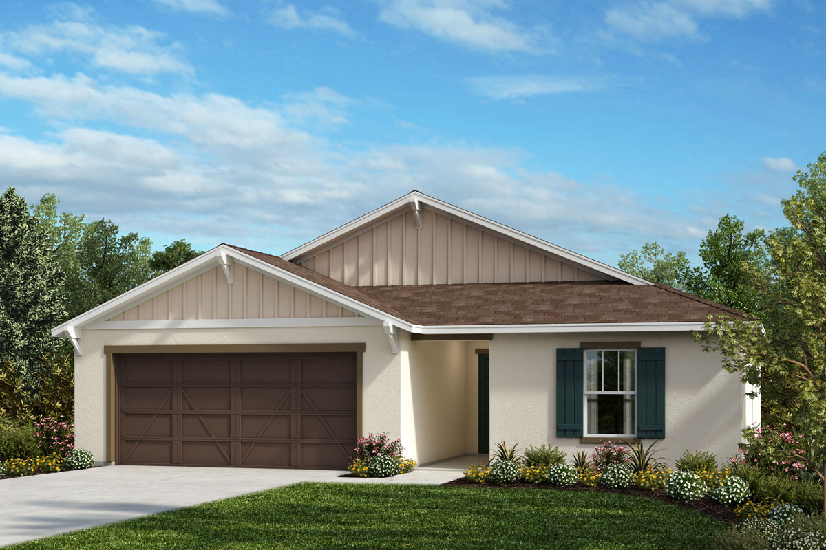 New Homes in Bradenton, FL - Plan 1707 Elevation U