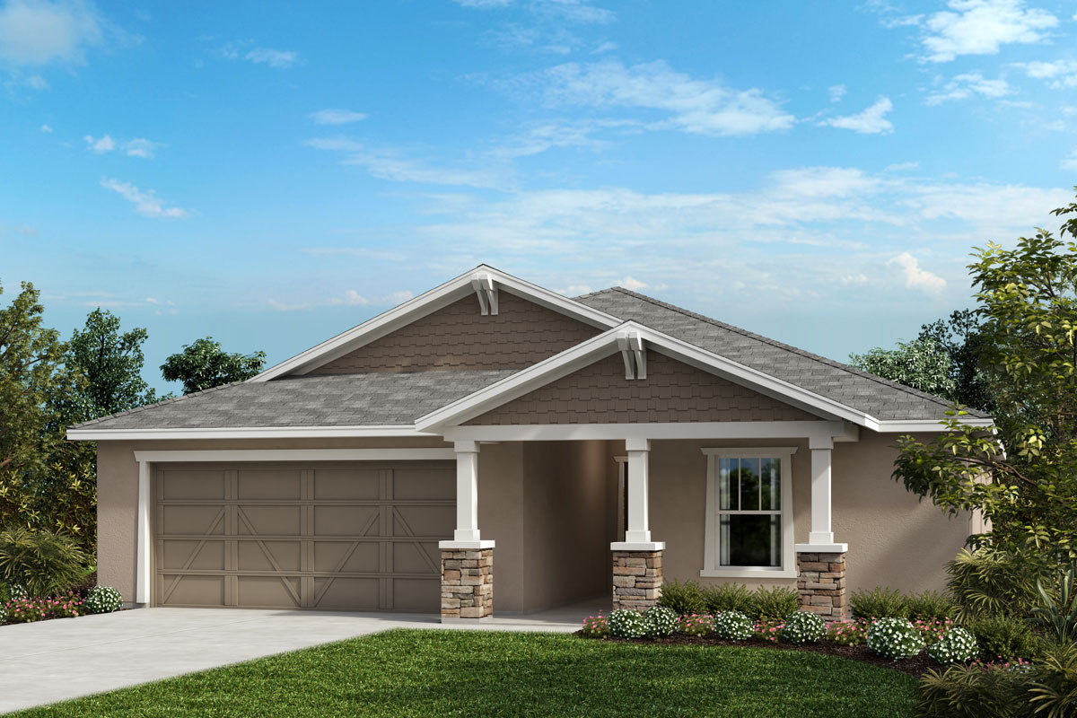 New Homes in Bradenton, FL - Plan 1707 Elevation W