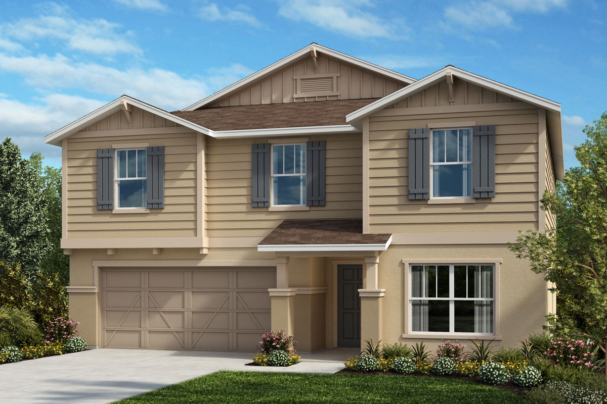 New Homes in Bradenton, FL - Plan 3016 Elevation U