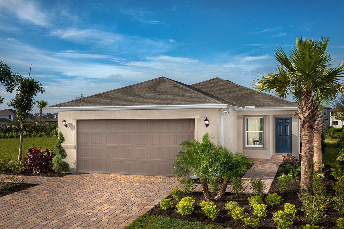 New Homes in Palmetto, FL - Heron Bay Plan 1637 as modeled at Brightwood at North River Ranch