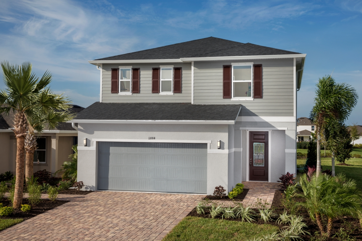 New Homes in Parrish, FL - Brightwood at North River Ranch Plan 2107